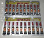 Super Glue Cyanoacrylate Adhesive 20 Tiny Tubes