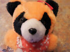Dan Brechner orange Raccoon stuffed plush toy 6