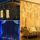 300 600 900 2400 LED Fairy String Curtain Light for New Year Christmas Party