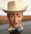 Vintage 1950's ROY ROGERS Plastic Face Cup - EXCELLENT CONDITION -Cowboy-Western