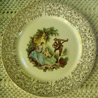 PLATE - TRIUMPH AMERICAN LIMOGES, USA, CHINA D'OR, 1T-S284, 22 K GOLD