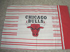 PILLOW CASE CHICAGO BULLS,On One Side, OR FOR CRAFTS, MATERIAL SEWING RARE
