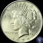 1934 D ~Stunning High Grade~ Silver Peace Dollar ~FREE SHIPPING! #M5