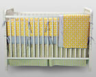 Kress Co. - Yellow and Gray Gender Neutral  9-Piece Crib Baby Bedding Set