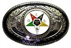 OES ORDER OF EASTERN STAR  EDUCATIONAL FRATERNAL MASONIC  SOCIAL  BELT BUCKLE