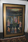 *AG3070 Antique Vintage Pastel or Paper Persian Painting