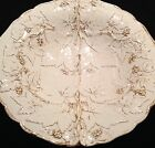 MEISSEN WHITE AND GOLD GILDED IVY LEAVES AND BERRIES BOWL