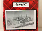 CAMPBELL SCALE MODELS Cattle Loading Pens Craftsman Kit 1/87 HO Scale NEW #781