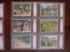 1969 Topps PLANET OF THE APES PARTIAL SET 21 44 ALL PSA GRADED GREEN BACK