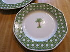 "1 Villeroy Boch CARIBIC 10"" china plate Heinrich Germany Palm Tree Design"