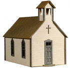 AMB LaserKit Crossroads Church Building HO Scale Craftsman Kit NEW #791