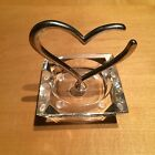PANDORA Heart Shaped UNFORGETTABLE MOMENTS Bracelet Holder Jewelry Authentic
