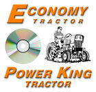 Power King Economy Tractor Dealer Service Manuals on CD