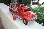 1956 TONKA SUBURBAN PUMPER #5 W/GRAB BAR ON BACK~BEAUTIFUL ORIGINAL CONDITION~