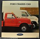 1988 Ford F-Series Trucks Econoline Van RV Brochure F-350 Super Duty E-350 88