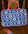 NWT Sheffield Home Hanging Travel Organizer - Zippered pockets! Navy Blue