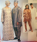 McCalls 4002 Misses Mens TUNIC CAFTAN PANTS HAT sz XLG-XXL 46-52 Sewing Pattern