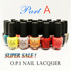 Authentic 100% Genuine O.P.I Nail Lacquer Polish OPI Collection Top Coat PART A