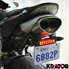 Super Bright Stick-on Auxiliary LED Brake / Rear Fog Light Strips Motorcycle Car