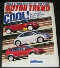 Motor Trend December 2002-SUV of the Year 2003-Volvo VC90