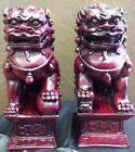 Chinese FOO DOGS Guardian Lions Imperial Guardian Lion Statues Mythic Foo Dogs