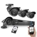 SANNCE 8CH 960H DVR 800TVL Outdoor CCTV Video Home Security Camera System 1TB