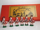 Garabaldi Toy  Soldiers - French and Indian War 78th Highlanders at attention