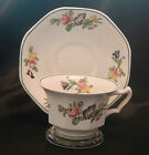 Antique 1925 Booth's English China OCTAGONAL Cup & Saucer