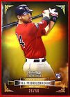 WILL MIDDLEBROOKS -- 2012 BOWMAN STERLING GOLD REFRACTOR # 50