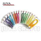 JUYA 7mm width420mm lengthPure Color Quilling Paper17Colors1700 strips total