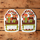 vintage wall plaque figgjo flint folklore turi design pair norway retro collect
