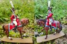 SEGOM PLASTIC TOY SOLDIER / NAPOLEONIC CAVALRY ~ HUSSAR  OFFICER  #  6