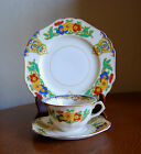 CAIRO JOHN MADDOCK MINERVA CUP SAUCER AND PLATE 1920'S ART DECO