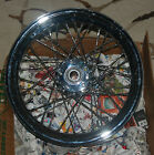 TWISTED SPOKE CHROME PLATED FRONT WHEEL FOR HARLEY DAVIDSON