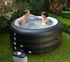 NEW HeatWave Pinnacle Deluxe Spa Inflatable Portable Hot Tub with Bubble Therapy