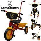 LAMBORGHINI DESIGN TRIKE TRICYCLE KID CHILD 3 WHEEL OUTDOOR RIDE ON TOY BICYCLE