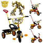 TRANSFORMER BIKE TRIKE KID CHILD 3 WHEEL OUTDOOR RIDE ON TOY BICYCLE TRICYCLE