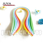 JUYA 10 Colors Quilling Paper 3 5 7 10mm Width 390mm length 100strips pack