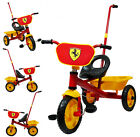 FERRARI DESIGN TRIKE TRICYCLE KID CHILD 3 WHEEL OUTDOOR RIDE ON TOY BIKE BICYCLE