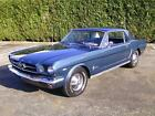 1965 Ford Mustang 4 Speed 4 Barrel A Code Rare car