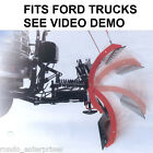 REVERSABLE SNOW PLOW PUSH & PULL PLOW POLY TRIP EDGE BACK DRAG 9' FORD TRUCK