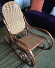 THONET Bentwood Rocking Chair, Circa 1974, Light Wood Tone *Near Chicago*
