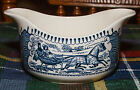 Royal China - Currier & Ives - Gravy Boat -