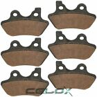 Front Rear Brake Pads For Harley Davidson FXSTDi 1450 Softail Deuce 1450 2005 06