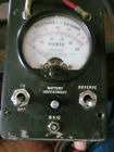 Vintage Simpson 8455  Volt-Ohm-Milliammeter with  Leather Case and Leads