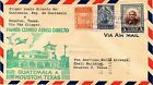 DR JIM STAMPS GUATEMALA - HOUSTON FIRST FLIGHT AIR MAIL COVER 1946