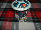 VINTAGE SPACE SHIP WINDUP SPINNING CAROUSEL TIN LITHOGRAPHED TOY