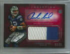 2012 Topps Inception Red Andrew Luck Rc 2 Color Patch Auto #22 25 Rare!