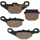 Caltric Front and Rear Brake Pads for Suzuki RM85 RM85L 2002 2003 2004