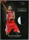 10-11 Panini Elite Black Box Kevin Martin NBA JERSEY PATCH #5 25 2010 2011